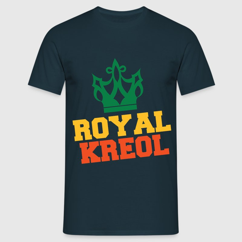 Tee Shirt France Guadeloupe 971 Royal Kreol  - T-shirt Homme