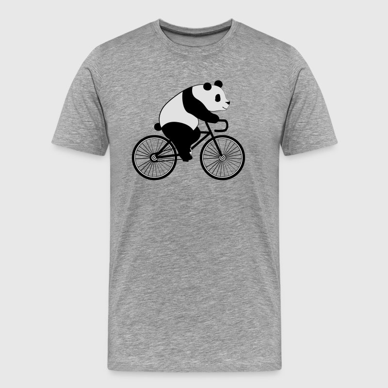 Panda Bicycle Tee shirts - T-shirt Premium Homme