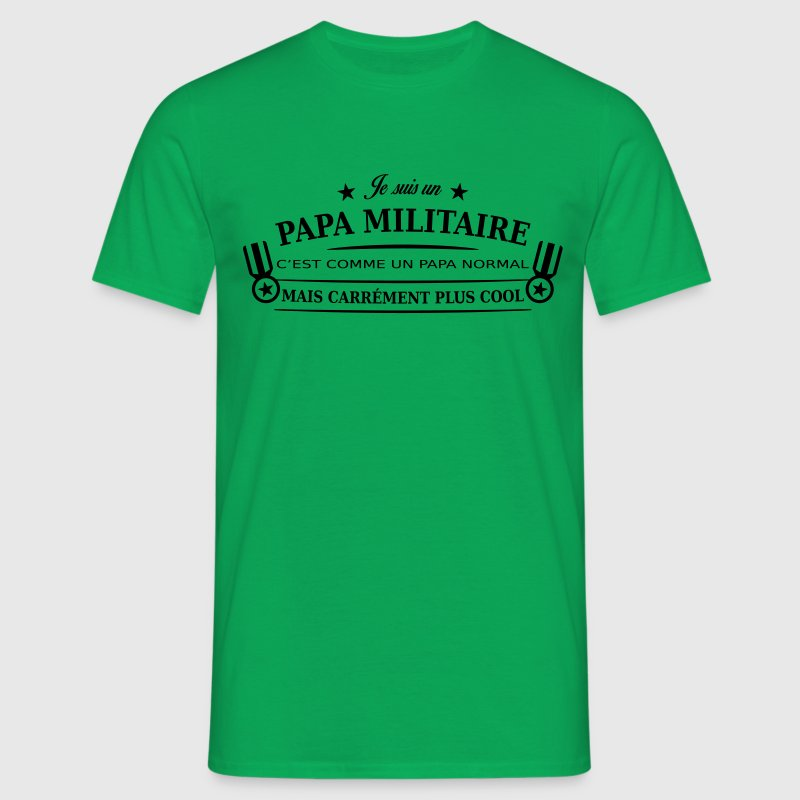 papa militaire Tee shirts - T-shirt Homme