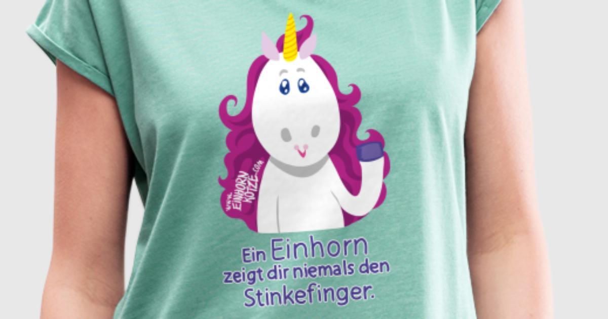 Stinkefinger Einhorn