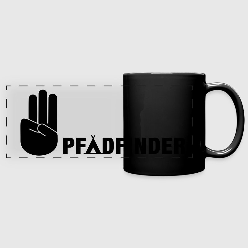 Scout sign and salute Mugs & Drinkware - Full Color Panoramic Mug