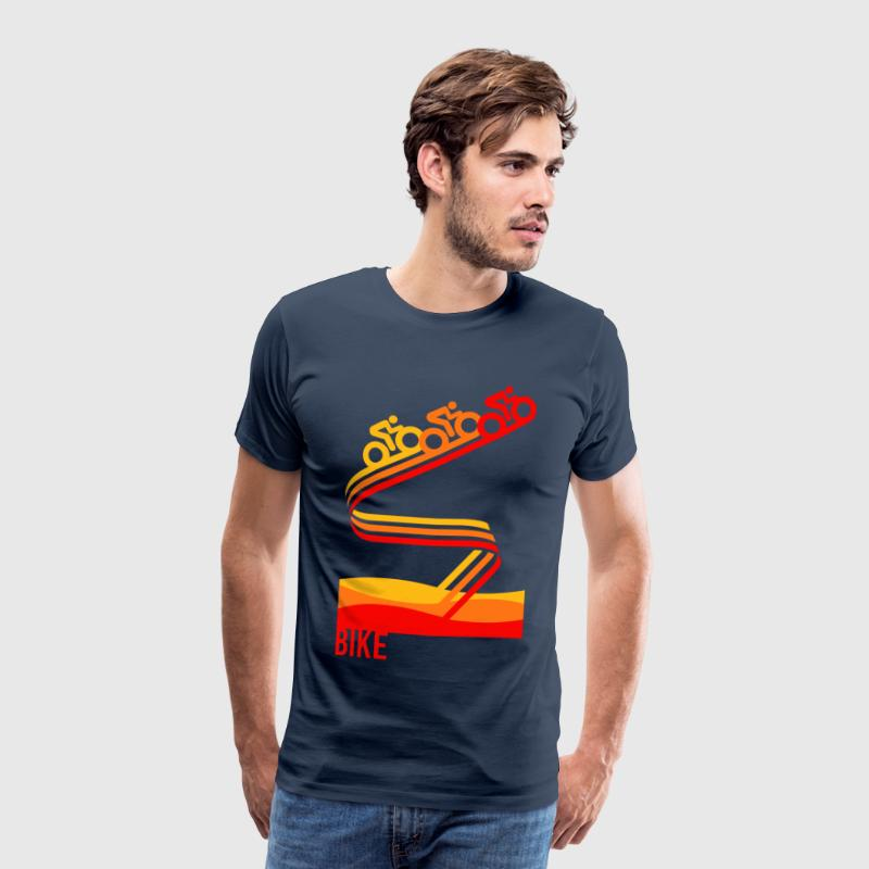 Retrobike - Mens T-Shirt - Men's Premium T-Shirt