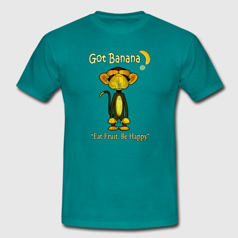 Happy Monkey - Men's T-Shirt