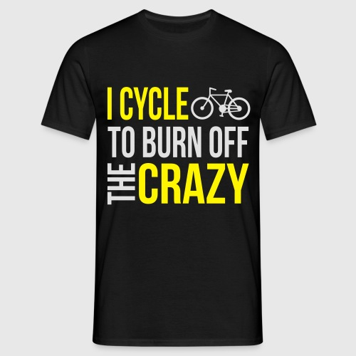 Cycle Crazy T-Shirts - Männer T-Shirt