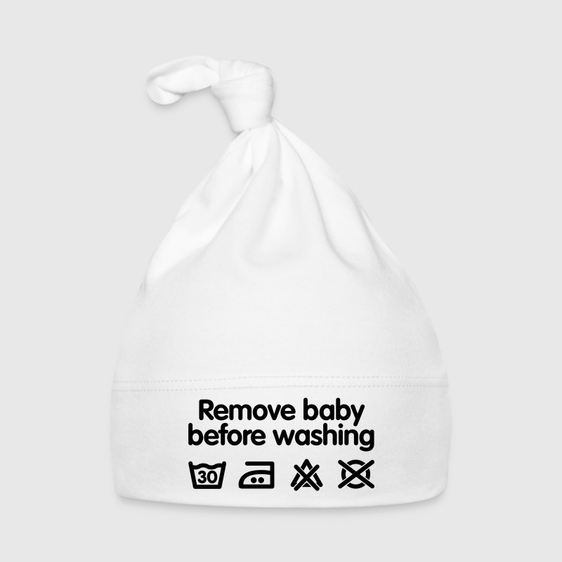 Remove baby before washing Baby mutsjes - Muts voor baby's