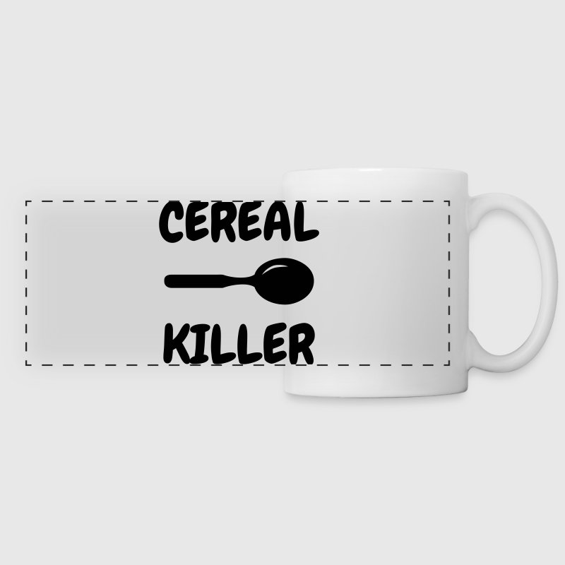 Cereal Killer - Humor - Funny - Joke - Friend Bouteilles et Tasses - Tasse panorama