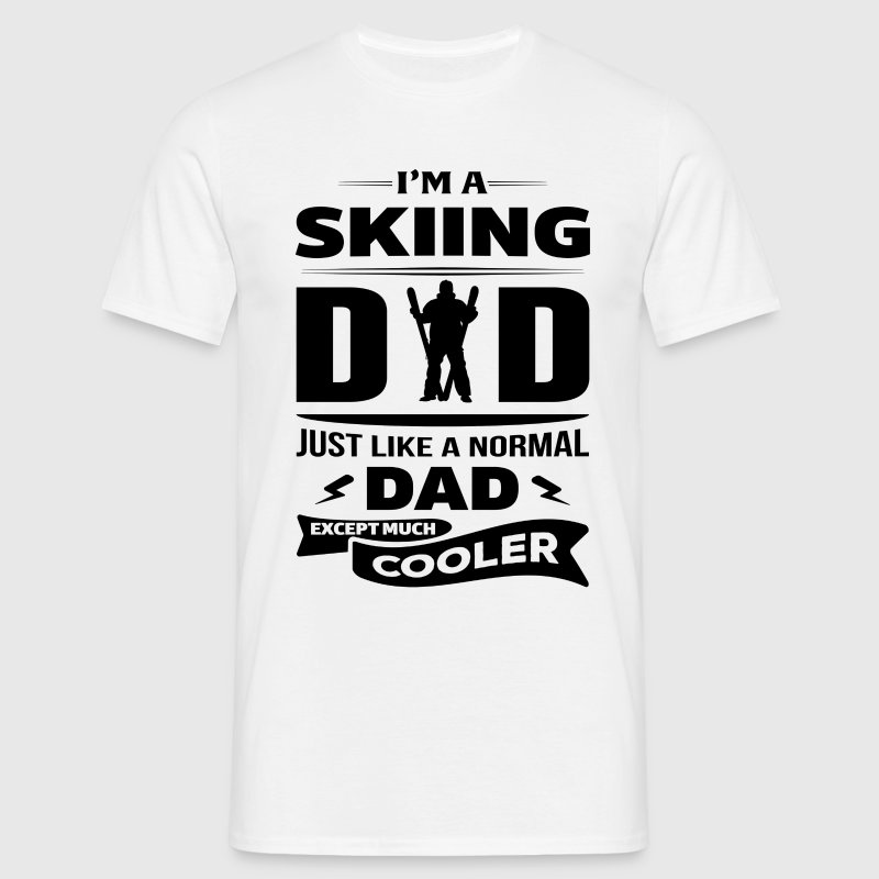 I'M A SKIING DAD... T-Shirts - Men's T-Shirt