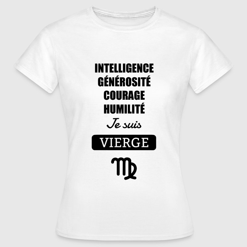 Astrologie - Vierge - Horoscope Signe Astrologique Tee shirts - T-shirt Femme