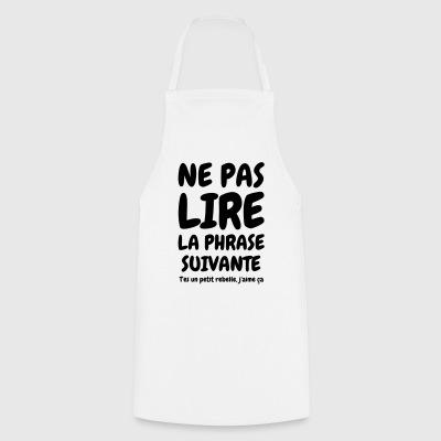 tabliers phrases dr les commander en ligne spreadshirt. Black Bedroom Furniture Sets. Home Design Ideas