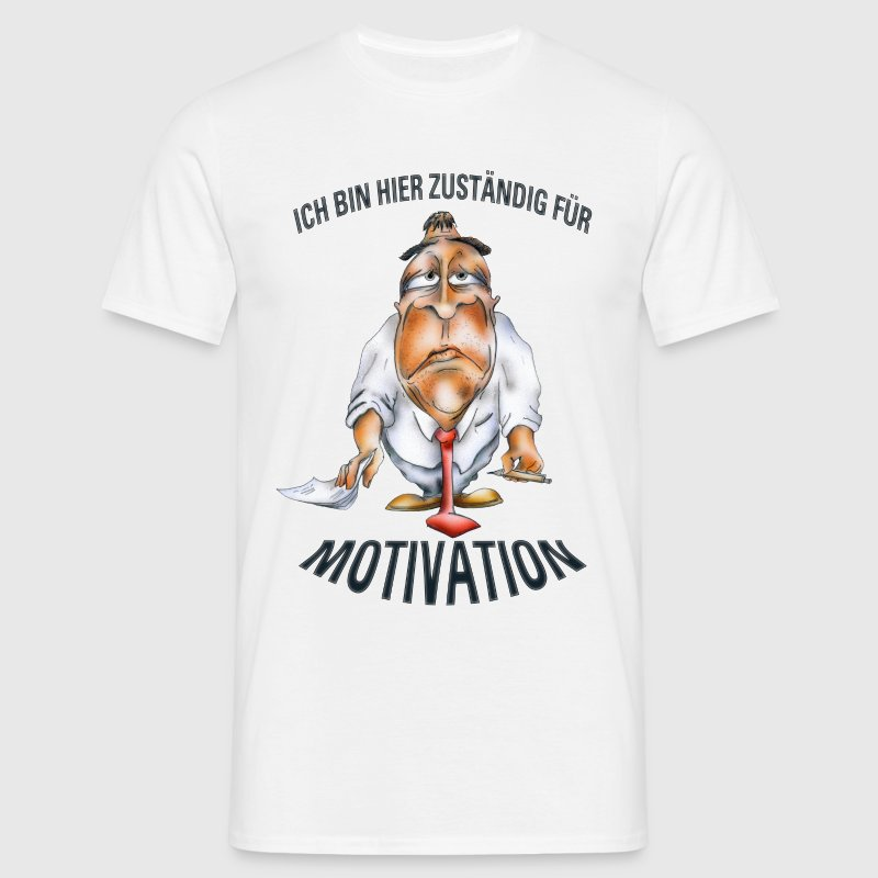 Motivationskünstler - Männer T-Shirt