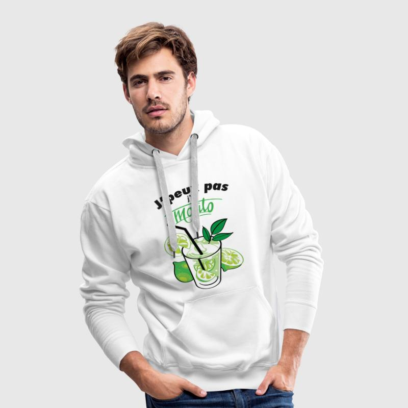 j'ai mojito Sweat-shirts - Sweat-shirt à capuche Premium pour hommes
