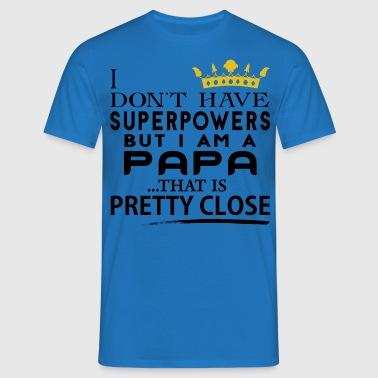 shop superpapa t shirts online spreadshirt. Black Bedroom Furniture Sets. Home Design Ideas