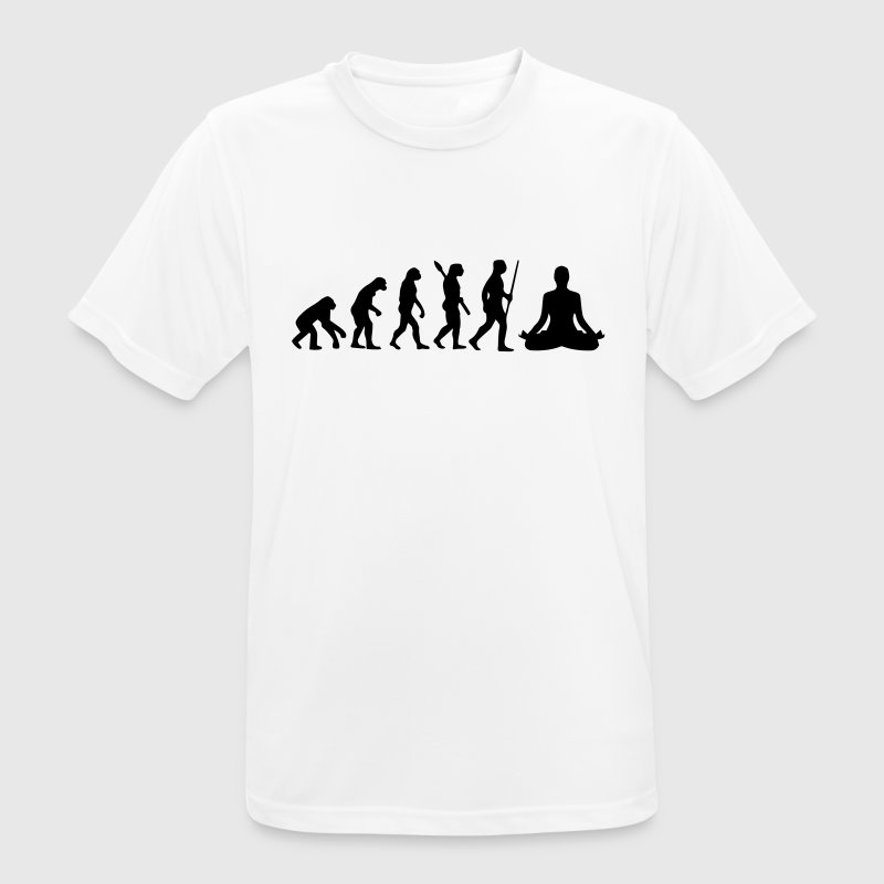 MEDITATION EVOLUTION! T-Shirts - Men's Breathable T-Shirt