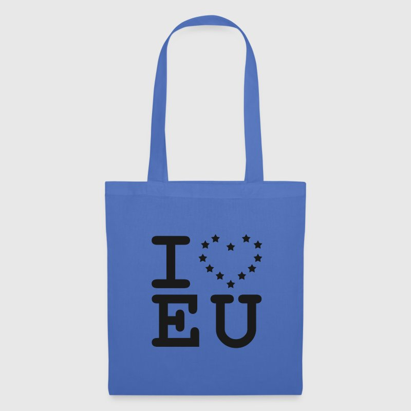 i love EU European Union Brexit Bags & Backpacks - Tote Bag