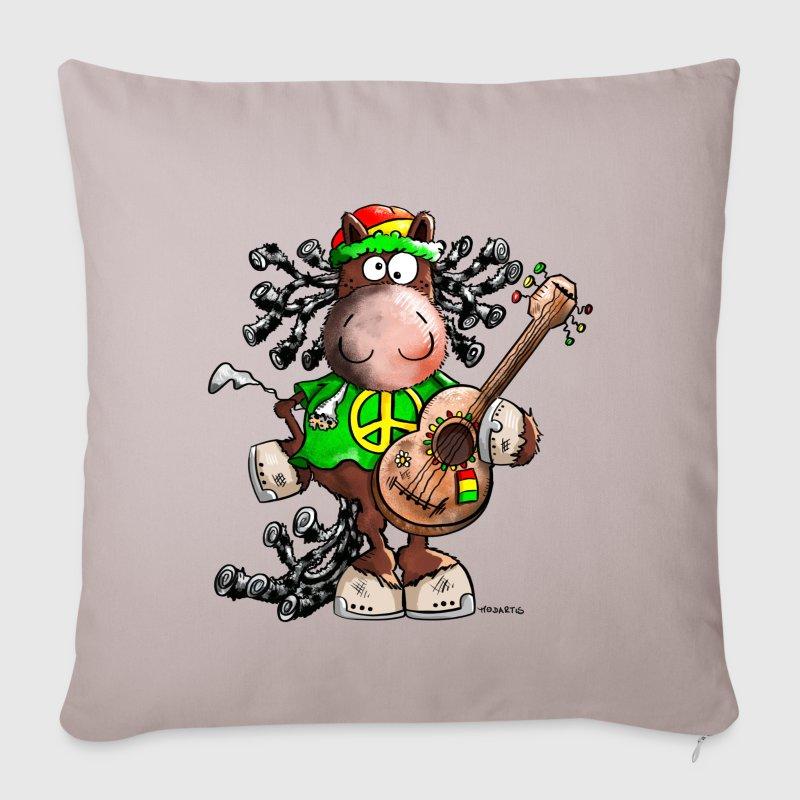 Copricuscino per divano con reggae cavallo spreadshirt - Copricuscino divano ...