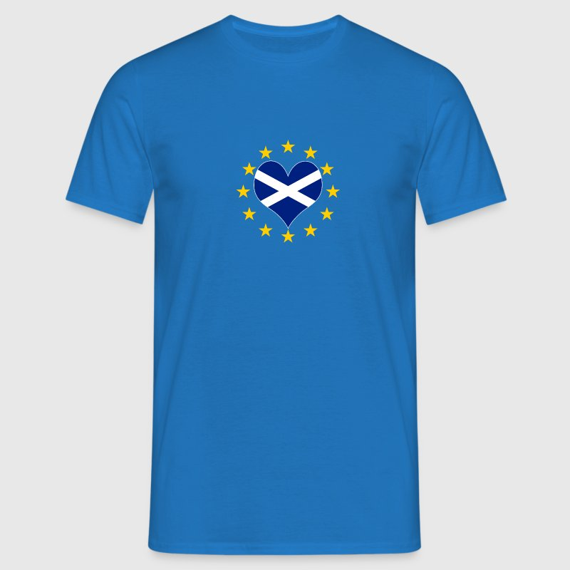 Scottish Euro Love  - Men's T-Shirt