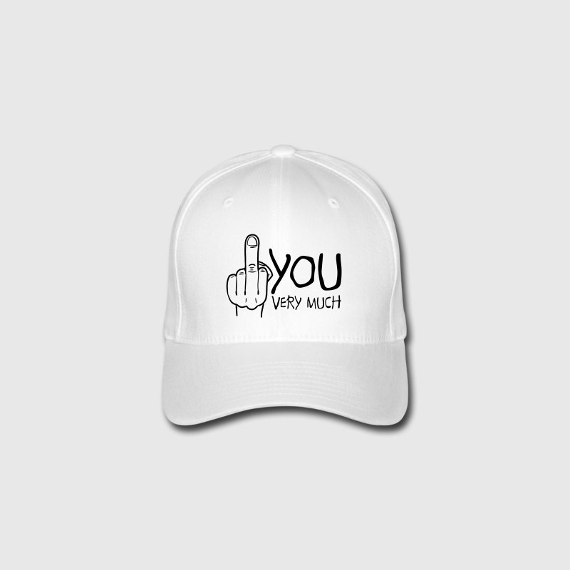 fuck you very much Casquettes et bonnets - Casquette Flexfit