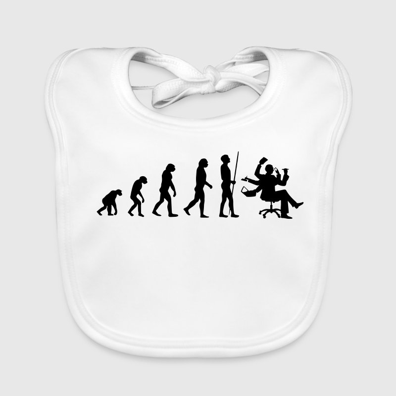 OFFICE EVOLUTION! Baby Bibs - Baby Organic Bib