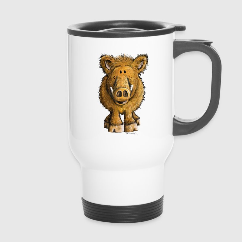 Wild boar Mugs & Drinkware - Travel Mug