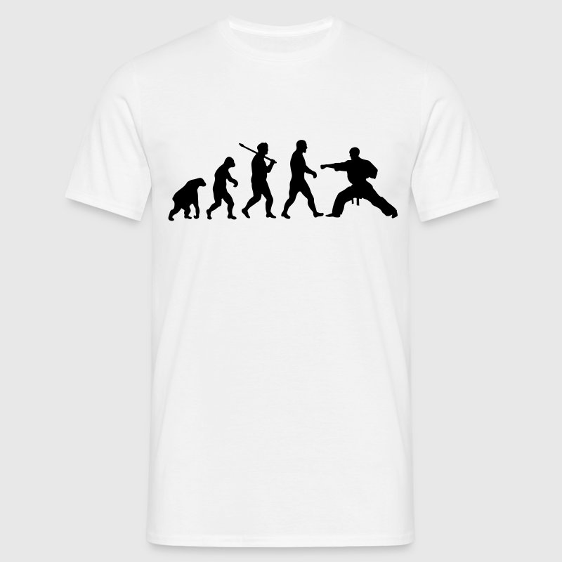 Evolution: Karate T-Shirts - Men's T-Shirt