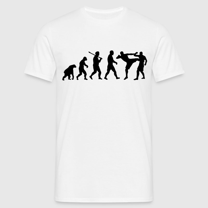 Evolution: Muay Thai/Kick Boxing T-Shirts - Men's T-Shirt