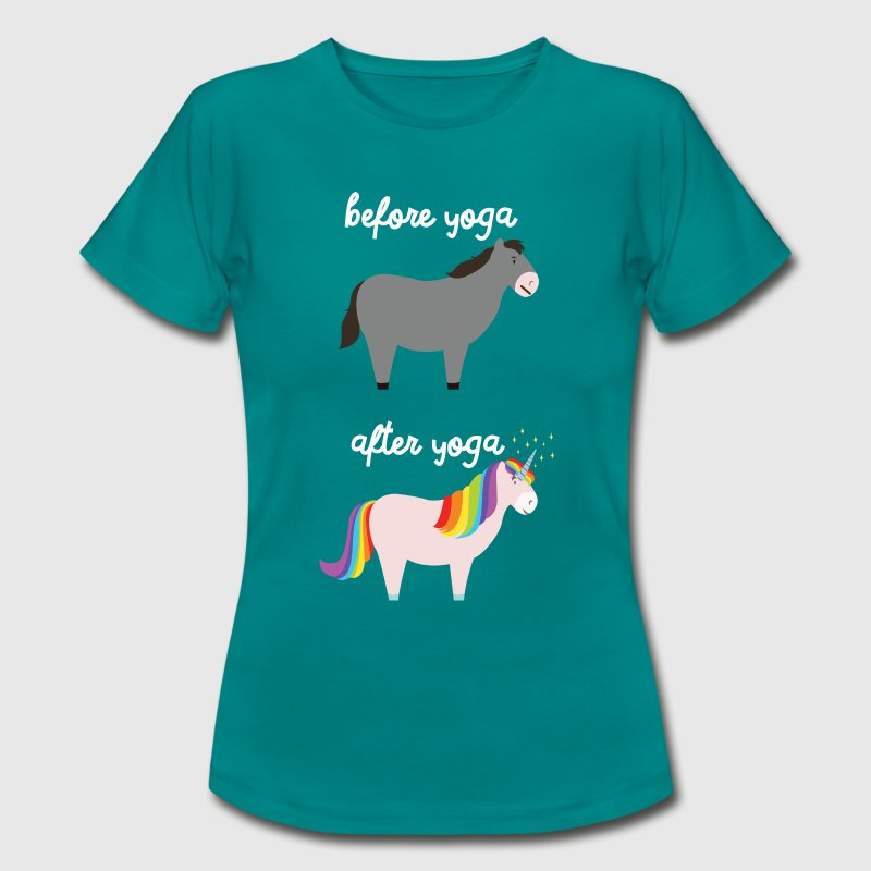 Before Yoga - After Yoga T-Shirts - Women's T-Shirt