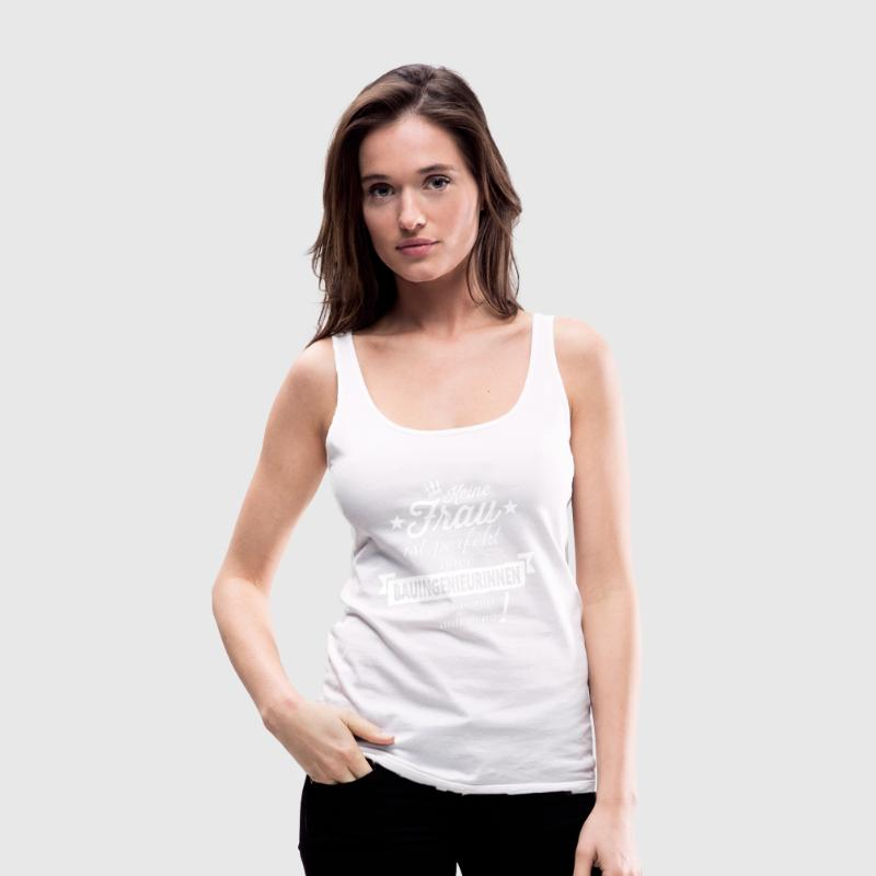 Perfekte Bauingenieurin Top - Frauen Premium Tank Top