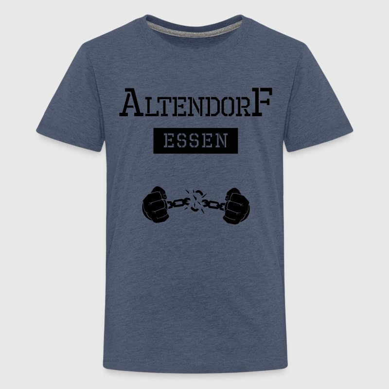 Ghetto-Shirt Essen Altendorf - Teenager Premium T-Shirt