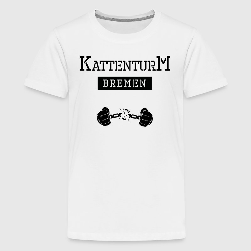 Ghetto-Shirt Bremen Kattenturm - Teenager Premium T-Shirt