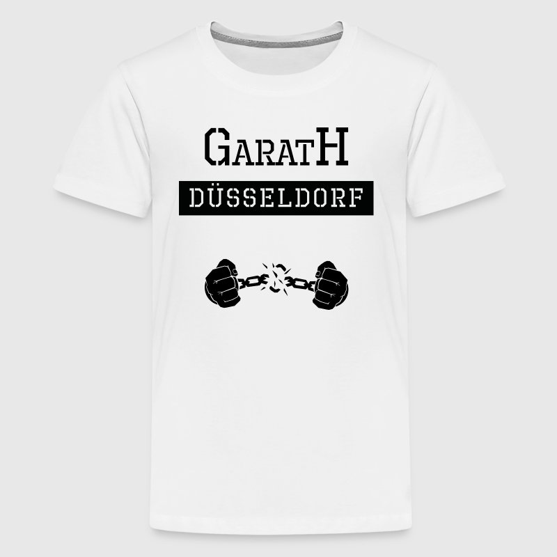 Ghetto-Shirt Düsseldorf Garath - Teenager Premium T-Shirt