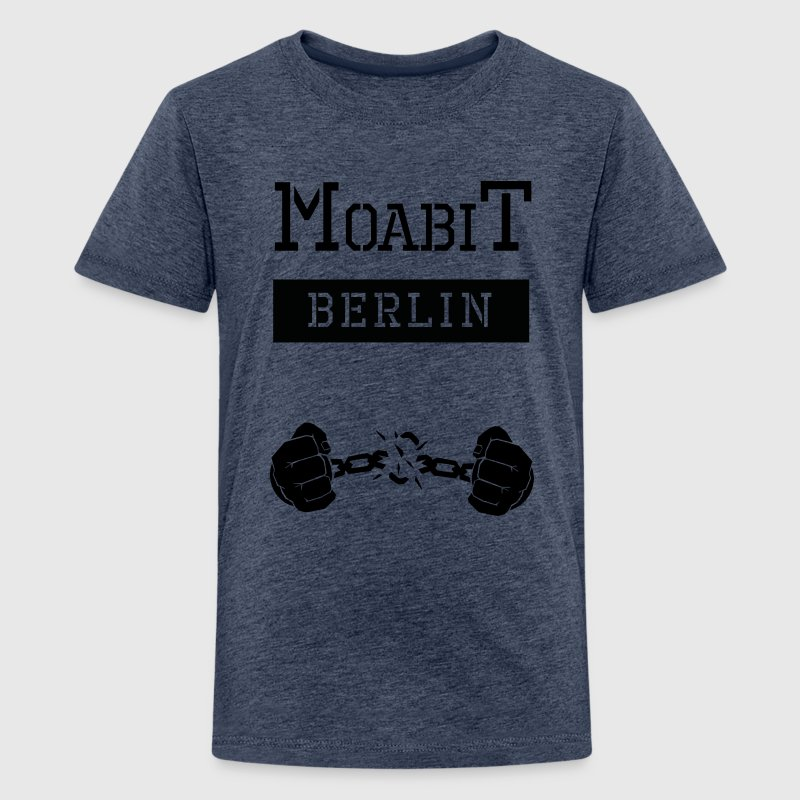Ghetto-Shirt Moabit Berlin - Teenager Premium T-Shirt