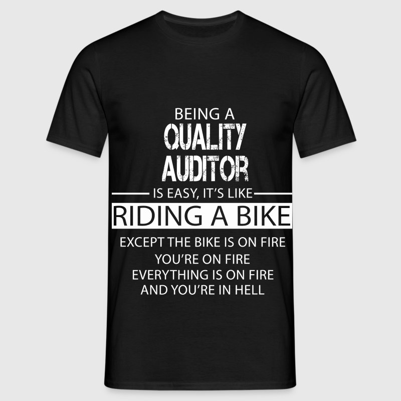 Quality Auditor T-Shirts - Men's T-Shirt