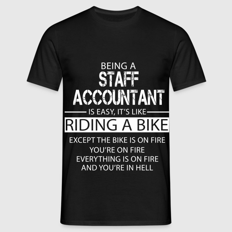Staff Accountant T-Shirts - Men's T-Shirt