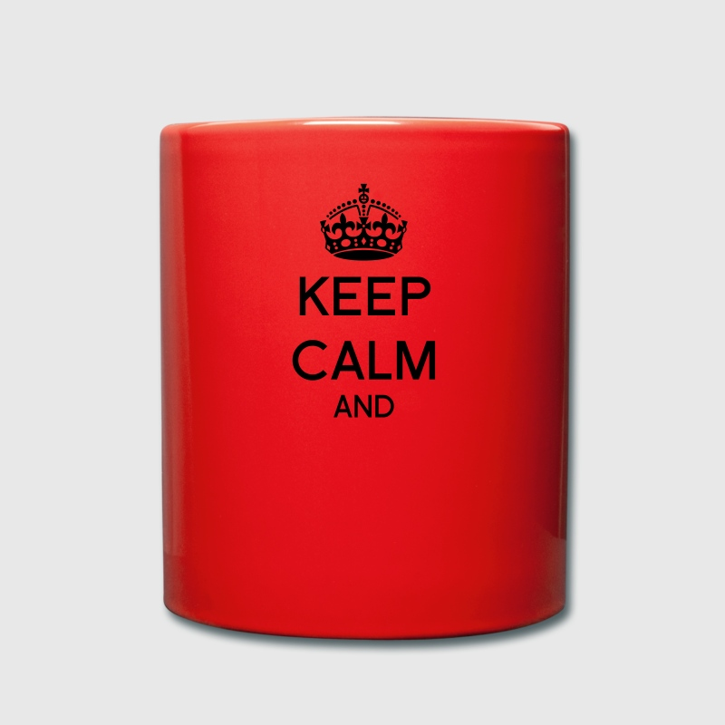 Keep calm and Corona Tazas y accesorios - Taza de un color