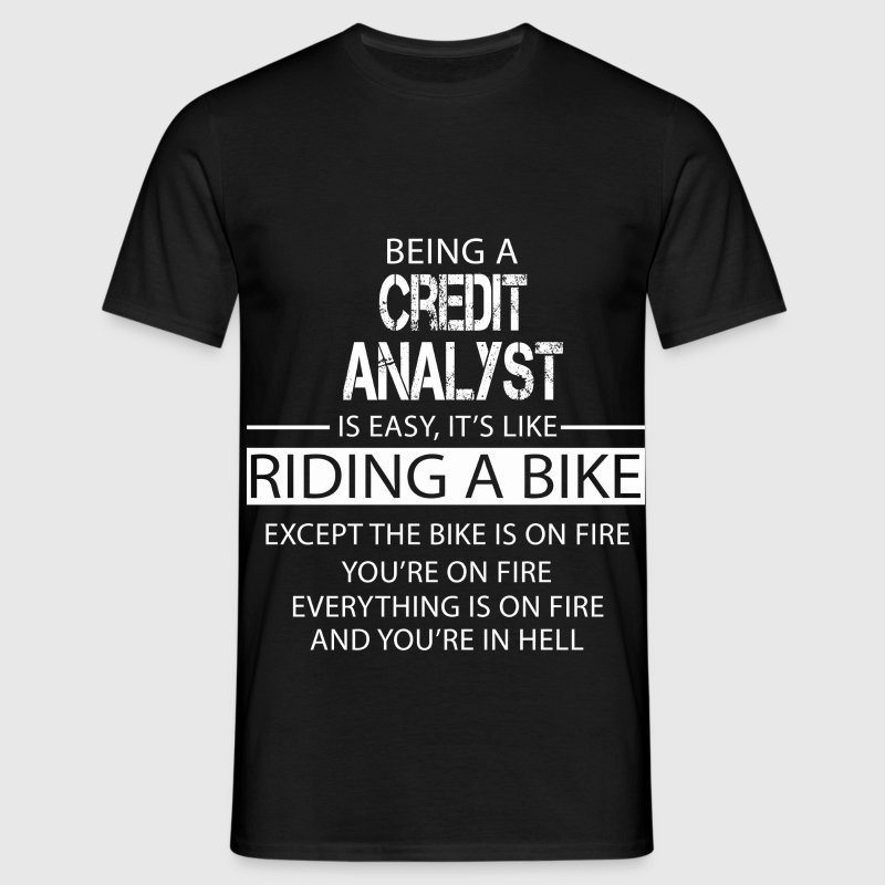 Credit Analyst T-Shirts - Men's T-Shirt
