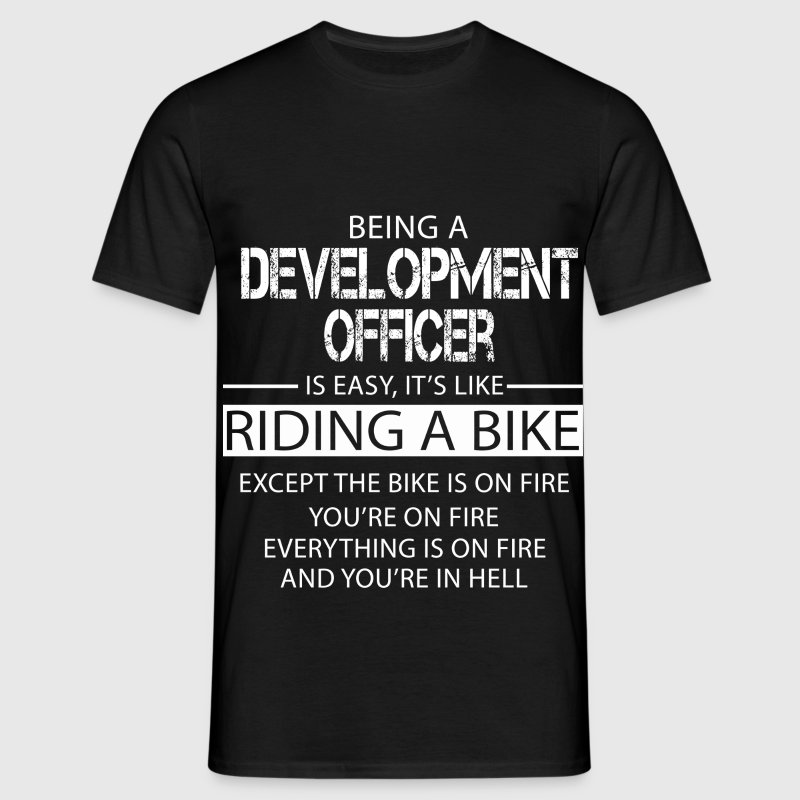 Development Officer T-Shirts - Men's T-Shirt