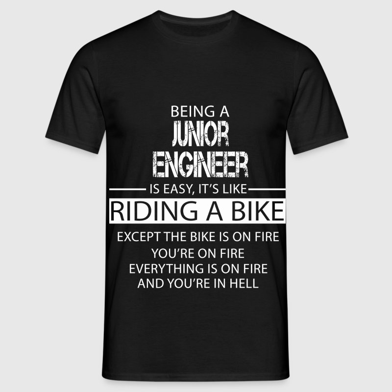 Junior Engineer T-Shirts - Men's T-Shirt