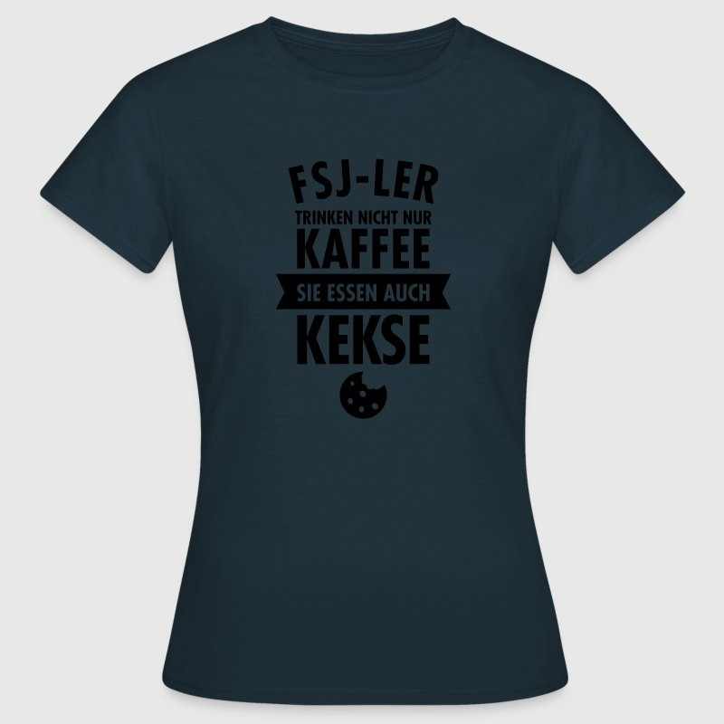 fsj ler trinken nicht nur kaffee t shirt spreadshirt. Black Bedroom Furniture Sets. Home Design Ideas