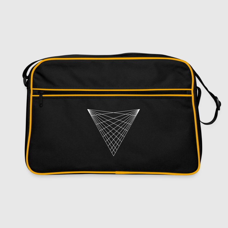 Sacred geometry / minimal hipster triangle symbol Bags & Backpacks - Retro Bag