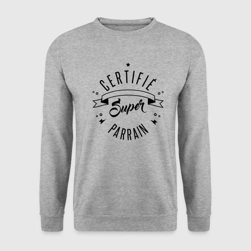 certifié super parrain Sweat-shirts - Sweat-shirt Homme