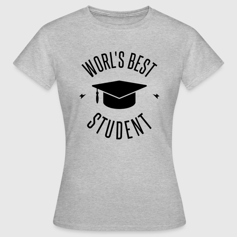 WORLD'S BEST STUDENT T-Shirts - Women's T-Shirt