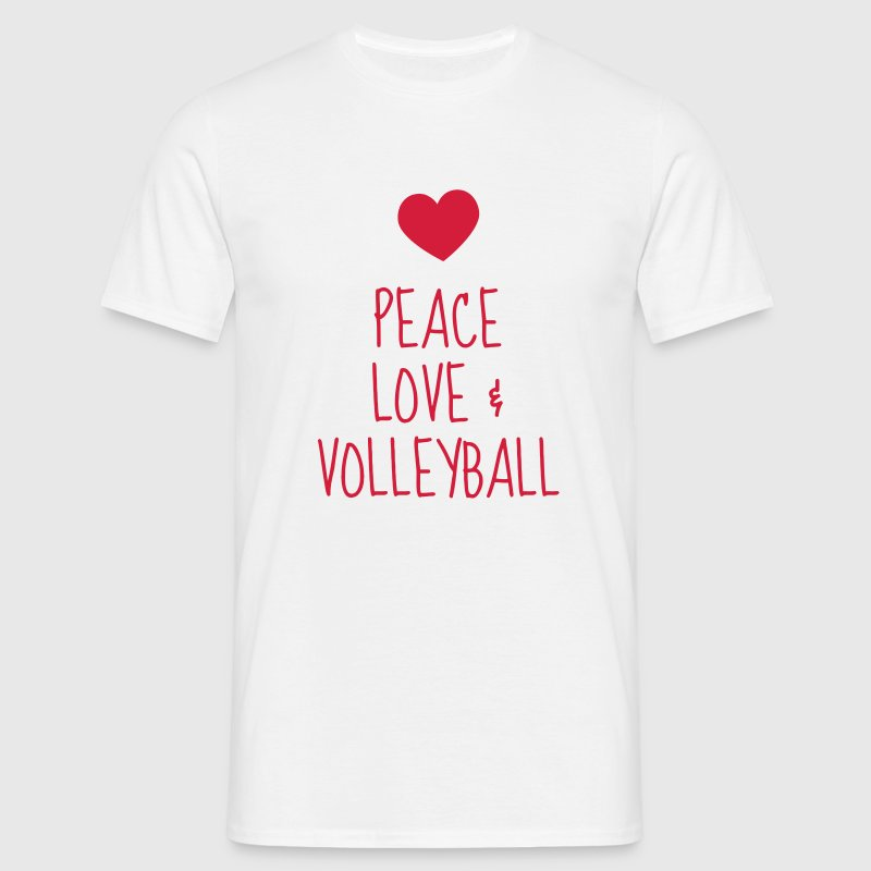 Volleyball - Volley Ball - Volley-Ball - Sport T-shirts - T-shirt herr
