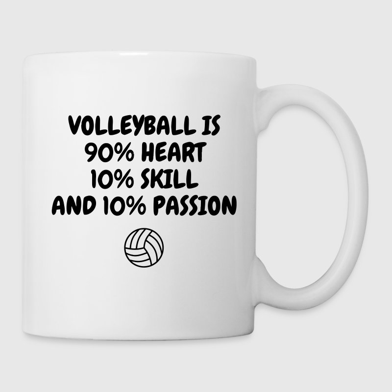 Volleyball - Volley Ball - Volley-Ball - Sport Bouteilles et Tasses - Mug blanc