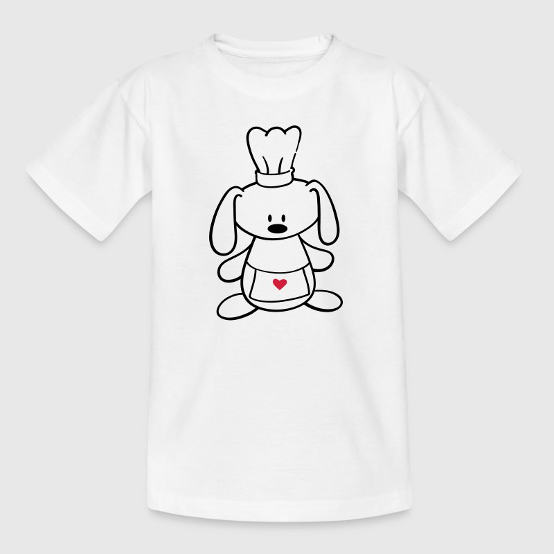 A cute rabbit cooks Shirts - Kids' T-Shirt