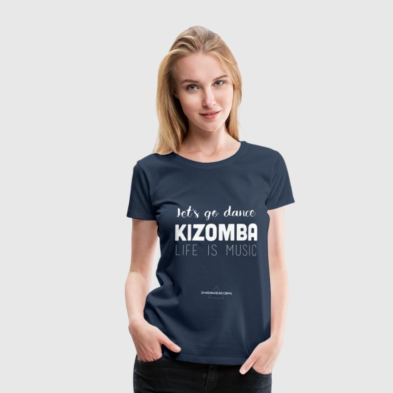 Let's dance Kizomba - Women's Premium T-Shirt