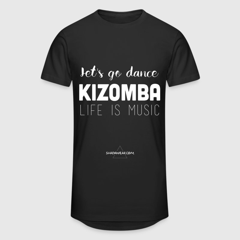Let's dance Kizomba - Men's Long Body Urban Tee