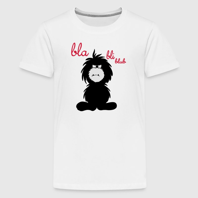 Monster bla bli blub T-Shirts - Teenager Premium T-Shirt