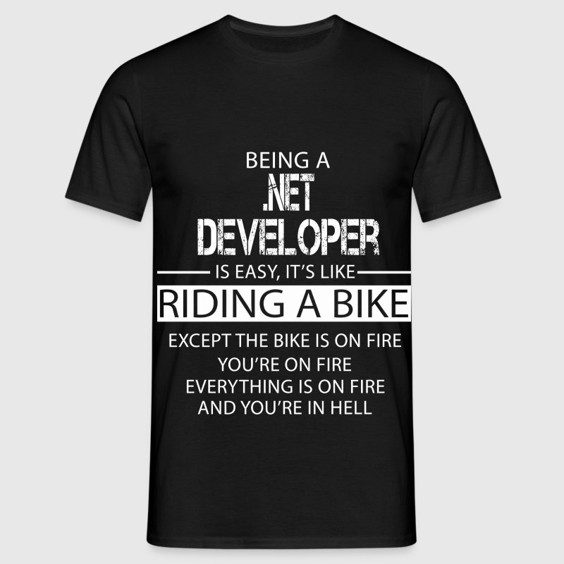 .NET Developer T-Shirts - Men's T-Shirt