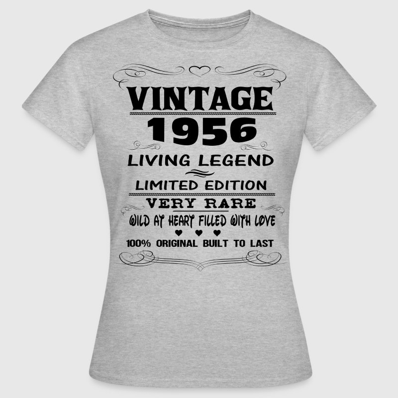 VINTAGE 1956-LIVING LEGEND T-Shirts - Women's T-Shirt