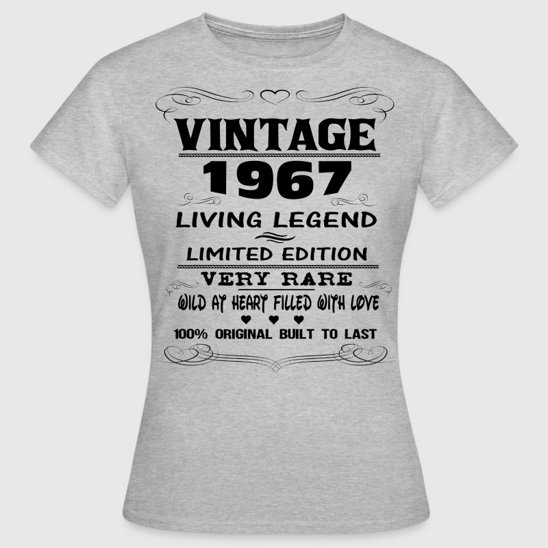 VINTAGE 1967-LIVING LEGEND T-Shirts - Women's T-Shirt